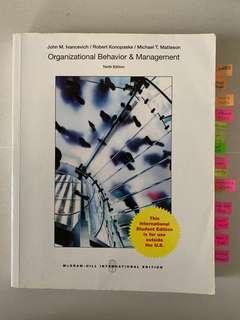 🚚 Organizational Behaviour & Management
