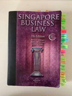 🚚 Singapore Business Law 7th Edition