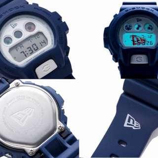 New G-shock x newera new era DW-6900 Japan limited Navy wrist watch