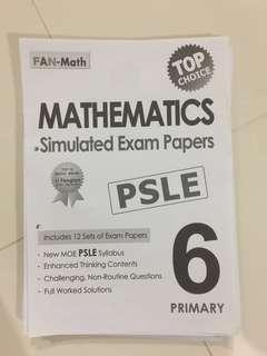 Top Choice PSLE Mathematics Simulated Exam Paper