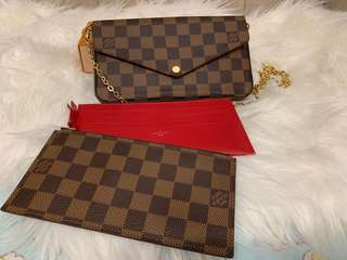FINAL 1150  Louis Vuitton Pochette Felicie 1461e20309104