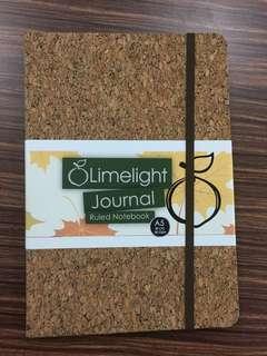Limelight A5 Cork Notebook