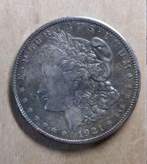 貨幣4~美國摩根1元銀弊 1921年