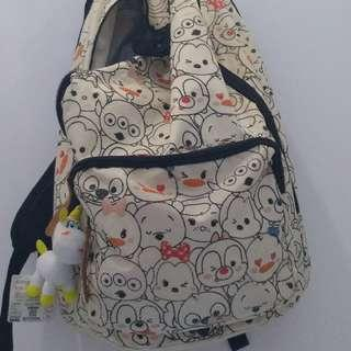 tsumtsum bag pack
