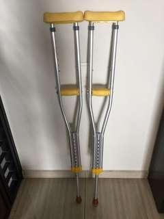 crutch walking stick