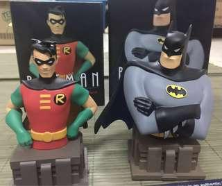 Batman & Robin Animated Bust Diamond Comics Exclusive Limited 3000 Dc Comics  Both for rm480 only shipped (previously rm300 each) Best price fast deal Pm if interested