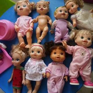 Baby alive price starting at rm40-90