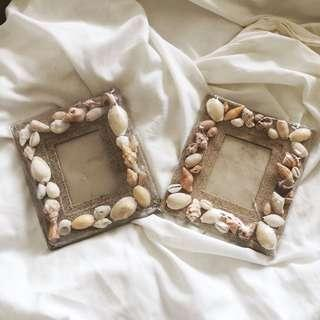 Seashell Picture Frames