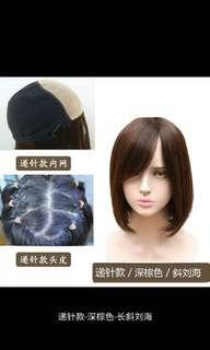 true hair made wig for momen