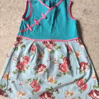 Girls cheongsam age 2-3