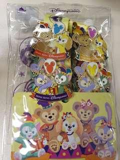 迪士尼 徵章 pins Duffy cookie Gelatoni StellaLou