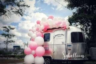🚚 Ready made balloon garland