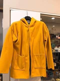 冬天暖暖地瓜黃保暖外套🧥