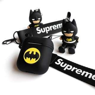 🚚 [PO] Batman airpod silicon protective case