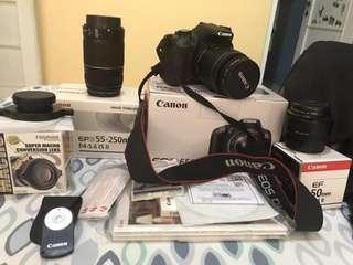 CAMERA DSLR(Canon EOS 650D)