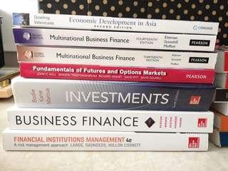 Business Finance Marketing textbook