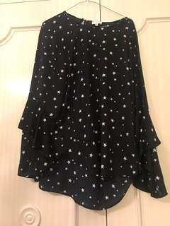 Witchery Star Blouse 16