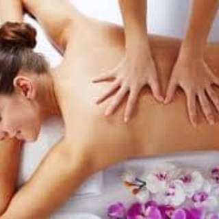 Free Massage for female for 1st time only