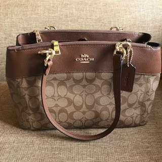 Repriced! Coach Signature Brook Caryall