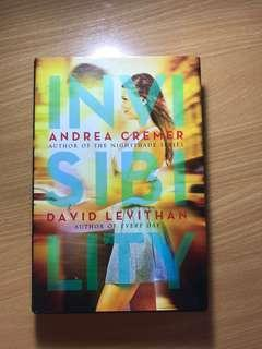 Invisibility by David Levithan and Andrea Cremer (HB)