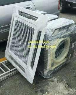Cassette type aircond