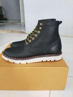 Castom Boots kulit asli 100%