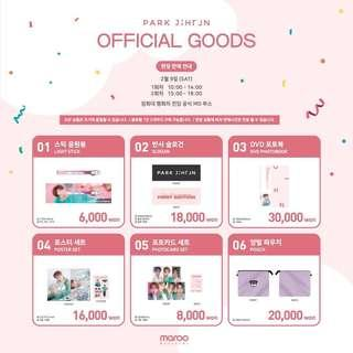 PARK JIHOON 2019 ASIA FAN MEETING IN SEOUL OFFICIAL GOODS