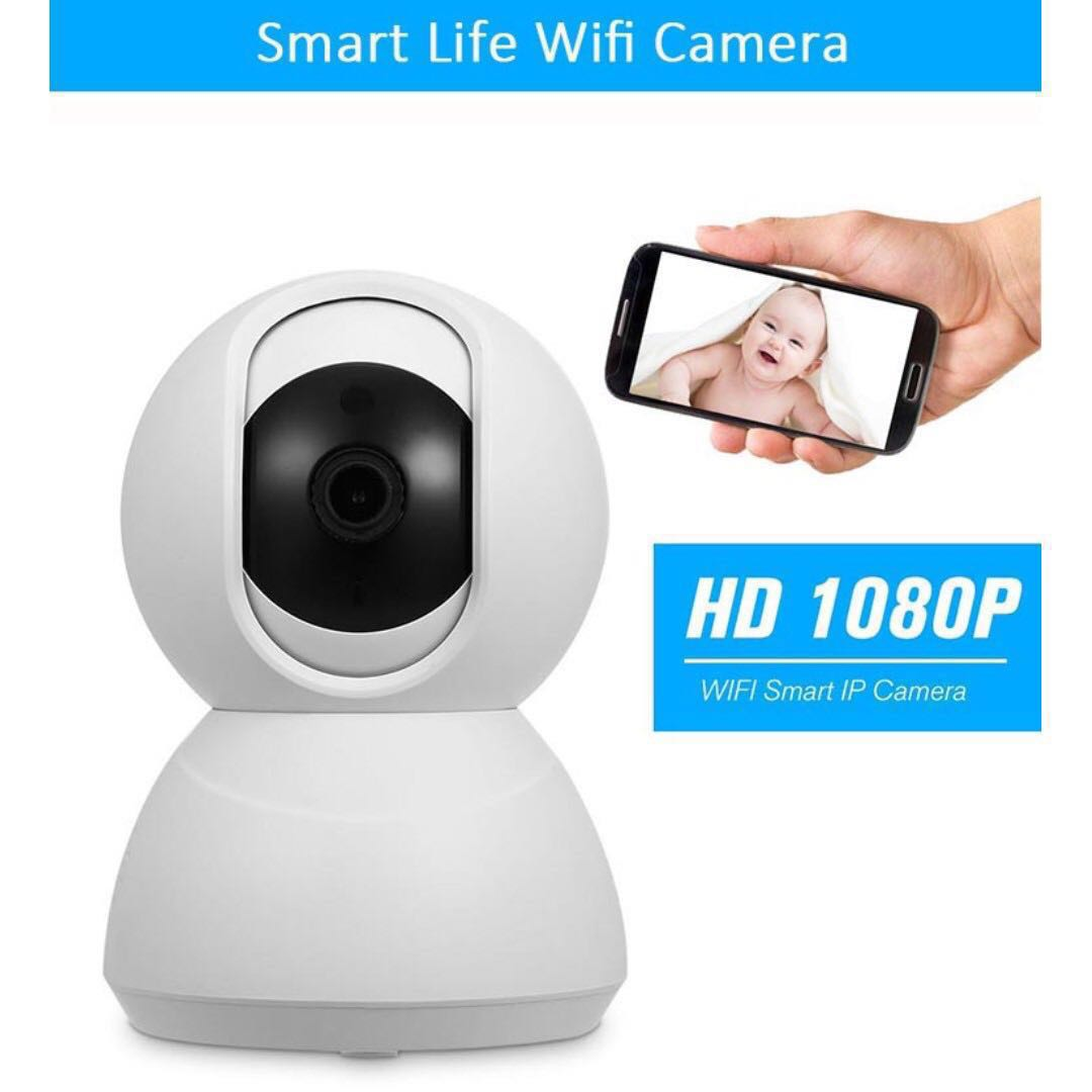 1080P HD Wireless Security IP Camera Works with Alexa Echo and Google Home  + 32GB SD Card