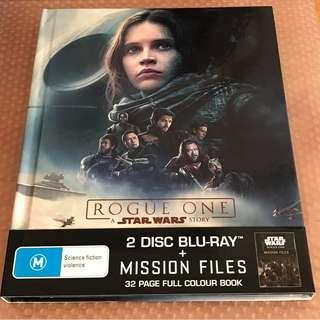 STAR WARS ROGUE ONE BLU-RAY Mission Files edition 星球大戰 藍光碟