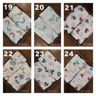 ✅READY STOCK Baby Swaddle / Muslin Swaddle / Baby Blanket