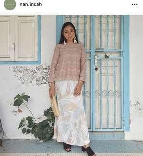 Lily Petuna Baju kurung Moden lace Nan Indah mimpikita petra aere