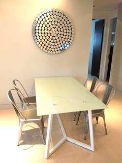 Designer Dining Table with 4 chairs
