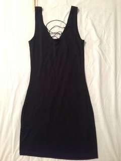 Reversible Black Dress