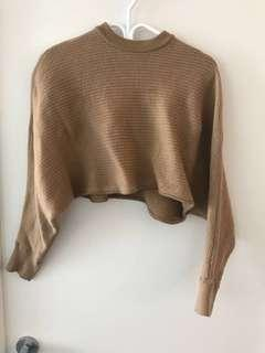 Aritzia Wilfred cropped sweater