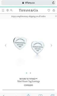 Tiffany authentic heart