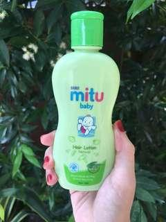 Mitu baby hair lotion