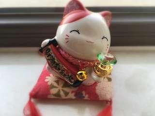🚚 Fortune Cat Coin Bank招财猫扑满