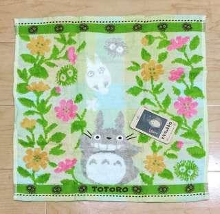 全新日本購入🇯🇵可愛龍貓 豆豆龍 方巾/毛巾🌳日本製