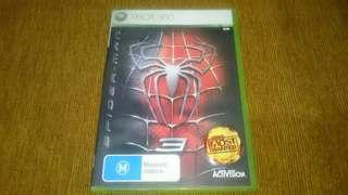 Xbox 360 Spiderman 3 DVD Game