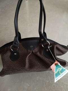 Bush kangaroo leather bag