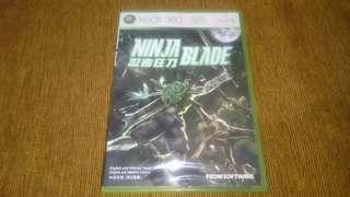 Xbox 360 Ninja Blade DVD Game