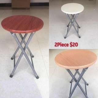 Circular folding stool