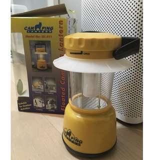 全新 Floated camping lantern 露營燈