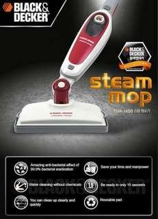 🚚 Black and Decker Steam Mop/steamer/mop/cleaner