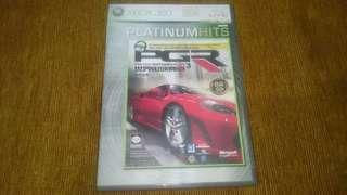 Xbox 360 Project Gotham Racing 3 PGR DVD Game