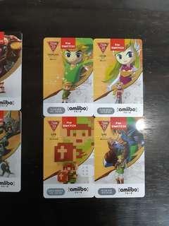 Amiibo Cards Legend of Zelda Breath of the Wild for Nintendo Switch