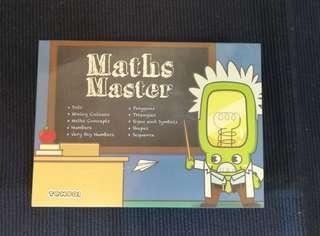 Maths Master flash card