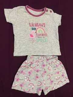 Primark shirt and pants set