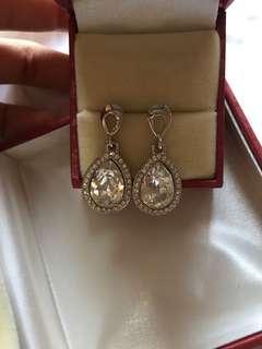Original Vaneesa Swarovski Crystal Earrings