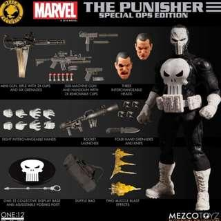 Mezco One:12 Punisher Special Ops Edition SDCC 2018